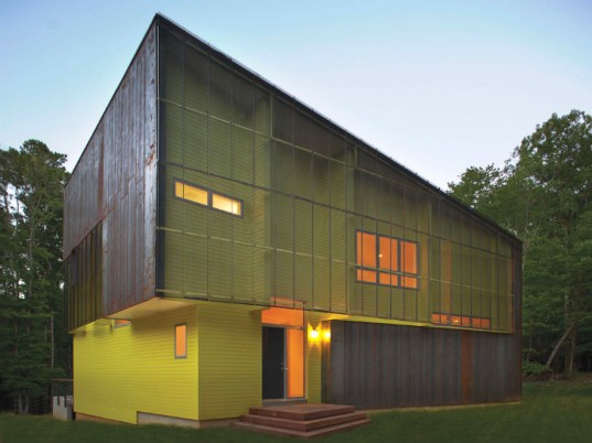 Crabill house a modern energy efficient for Modern energy efficient homes