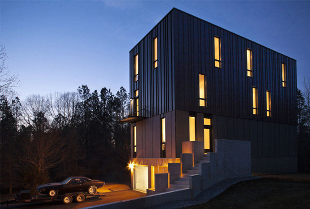 Michael Ranks 3200 Square Foot Modern Gothic Home Recently Received A Design Award From